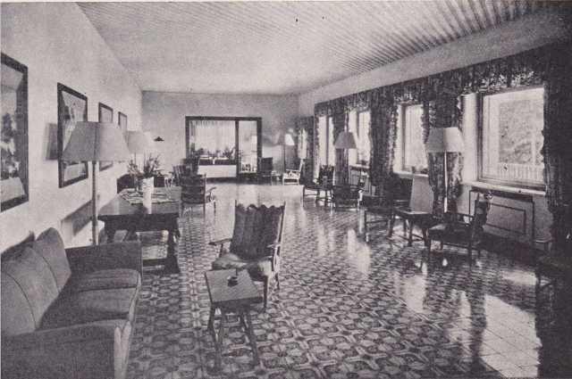 Interno del Grand Hotel Monte Faito