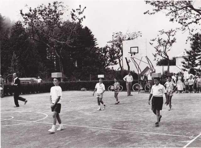 Giochi al campo sportivo