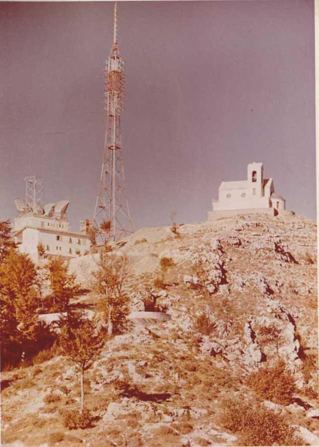 Antenna RAI e santuario di S. Michele